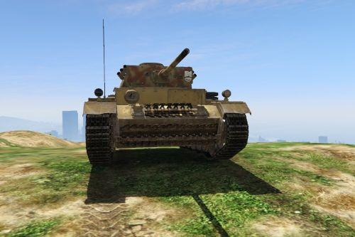 Panzer III WWII Skins