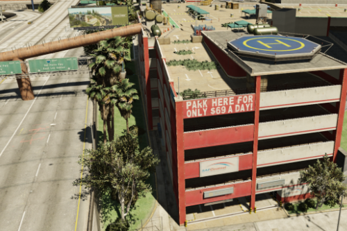 Parking Garage Zombie Base [YMAP]