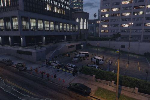 Parking Lot Arrest [Menyoo]