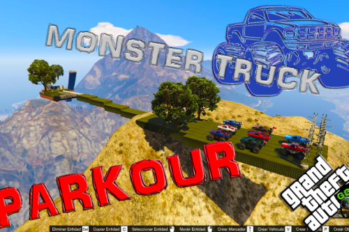 Monster Truck Parkour