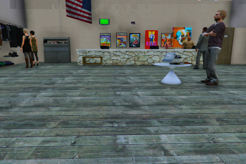 Partially Sold-Out Gift Store For Liberty City Moved