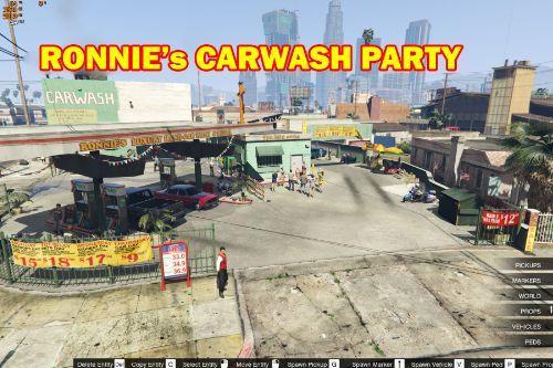 Party at Ronnie's Car Wash [MapEditor]