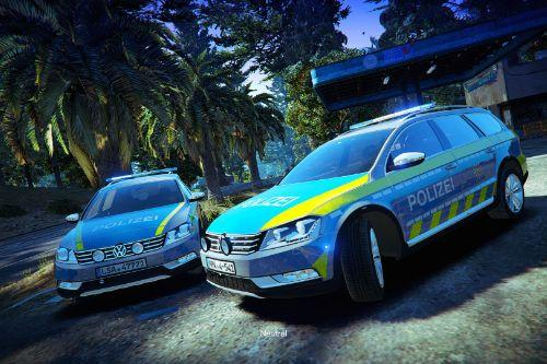 Passat B7 Alltrack - Polizei Pack (NRW, MVL, LSA) \\ German Police [PAINTJOB]