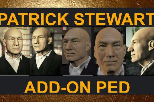 Patrick Stewart [Add-On Ped]