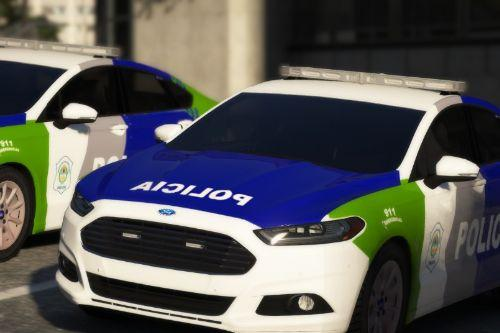 Patrullero de la Policía Bonaerense (Argentina) Ford Mondeo