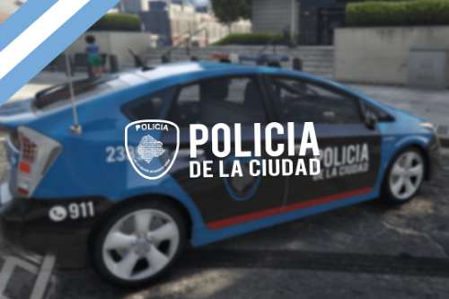 Toyota Prius Policia de la Ciudad [Add-On | Replace] Buenos Aires, Argentina