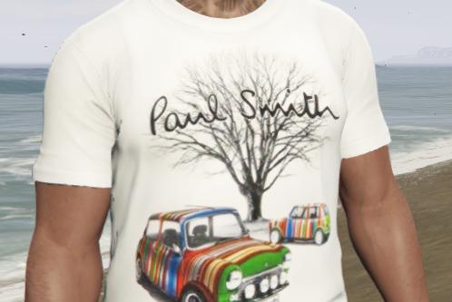 PAUL SMITH London Mini-Cooper T-Shirt