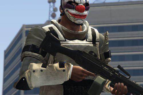 PAYDAY 2 ballistic armor for Franklin