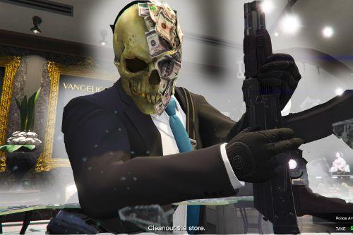 Payday 2 Greed Mask