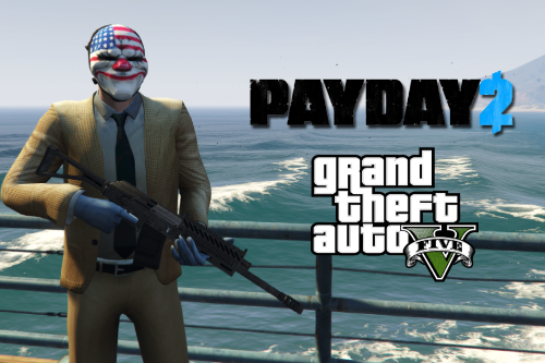 PayDay2 Dallas [Add-On Ped]