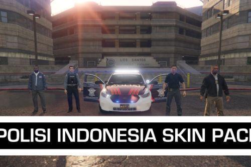 Ped Pack | Polisi dan DVI Indonesia