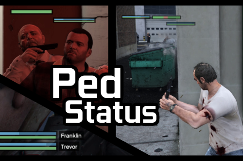 Ped Status - Health and Armor Display