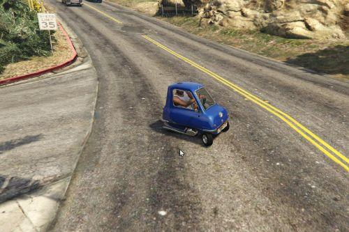 Peel P50 Realistic and Silly Handling