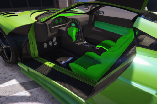 C08ef3 interior green