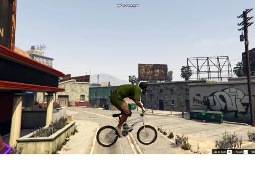 Perfect BMX handling