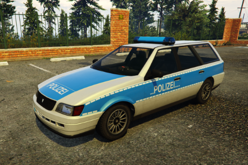 Performancefreundliches Deutsches Polizeiauto (Livery for Ingot) German lorefriendly Policecar