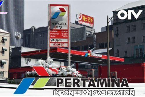 Pertamina Indonesian Gas Station [OIV | Replace]