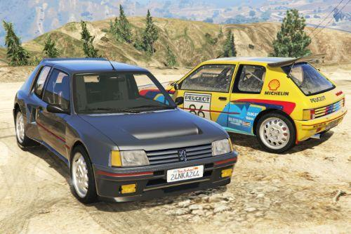 Peugeot 205 Turbo 16 [Add-On | Tuning | Livery]