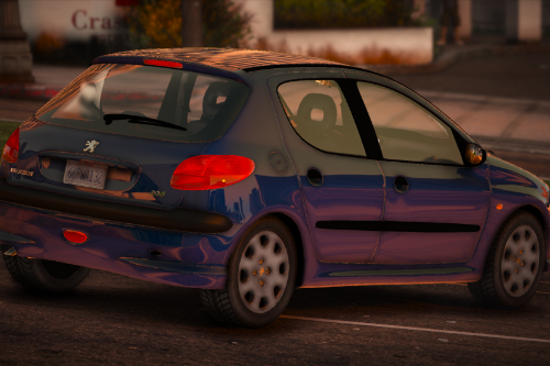 Peugeot 206 1999 [Add-On | Extras]