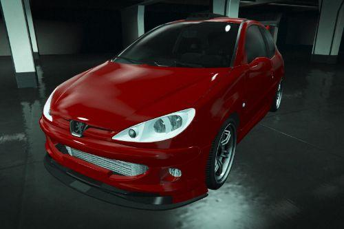 Peugeot 206 GTi [Add-On | Tuning | OIV]