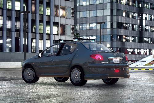 Peugeot 206 Sedan 2006 [Add-On | Extras]