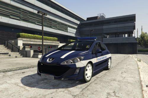 Peugeot 308 2007 Polizia Municipale Puglia