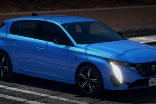 Peugeot 308 2022 [Add-On / Replace]