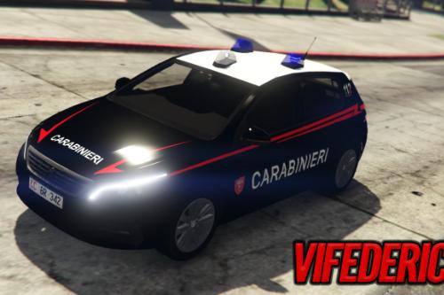 Peugeot 308 - Carabinieri [Replace | ELS]