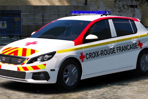 Peugeot 308 Croix Rouge Francaise