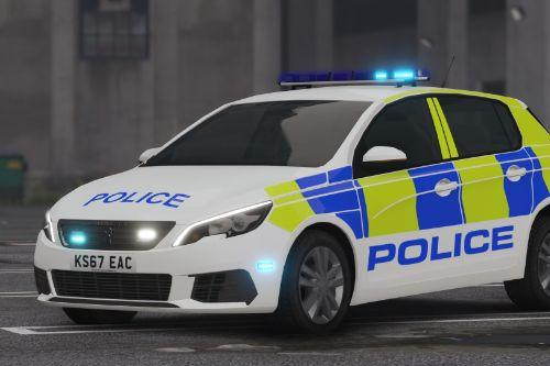 Peugeot 308 Greater Manchester Police [ELS]