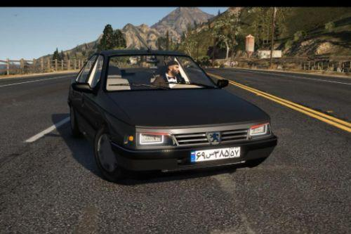Peugeot 405 [ Add-On  / HQ / Animated / Tuning ]