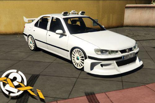 Peugeot 406 Taxi 2 [Add-On | Dials | Tuning]