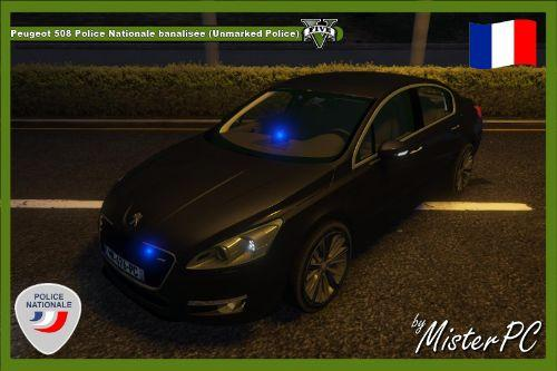 Afdfca 1620x1080 peugeot 509 police nationale banalisée (unmarked police) by misterpc