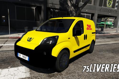 Peugeot Bipper - DHL Express (Paintjob | FiveM)