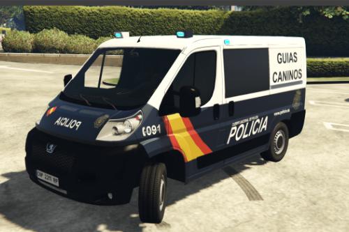 Peugeot Boxer Policía Nacional/CNP Guias Caninos.
