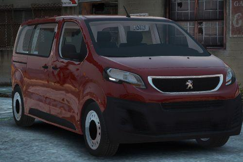 Peugeot Expert Civilian [Replace / FiveM | Unlocked]