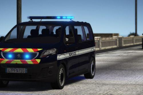 Peugeot Expert Gendarmerie [Replace / FiveM | NON ELS / ELS| Template]