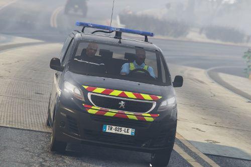 Peugeot Expert 2017 Gendarmerie