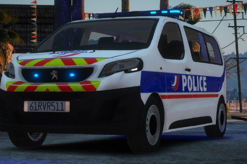 Peugeot Expert Police Nationale [Replace / FiveM | NON ELS / ELS | Template]