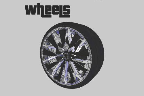 Peugeot Onyx Wheels [ZModeler3 Resource]