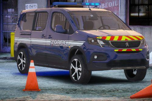 Peugeot Rifter Gendarmerie [SOLO | FiveM | NON-ELS | ELS ]