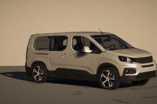 Peugeot Rifter [Replace / FiveM | Unlocked]