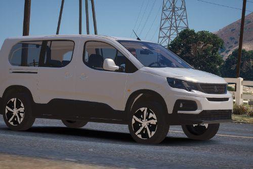 Peugeot Rifter [Replace / FiveM | Unlocked]