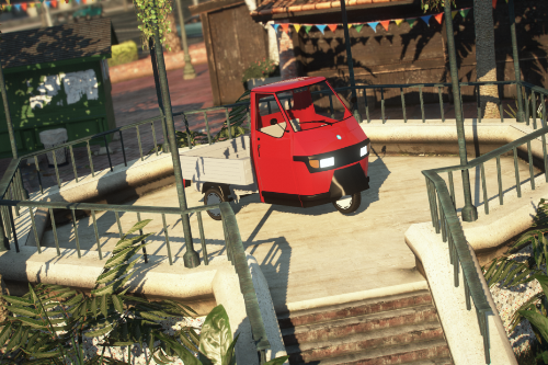Piaggio Ape 50 [Add-On]