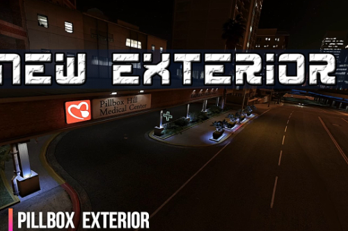 PILLBOX HOSPITAL EXTERIOR  YMAP / XML