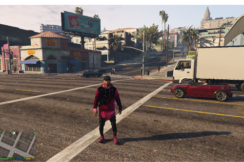 Pink Galaxy Hoodie (extra)