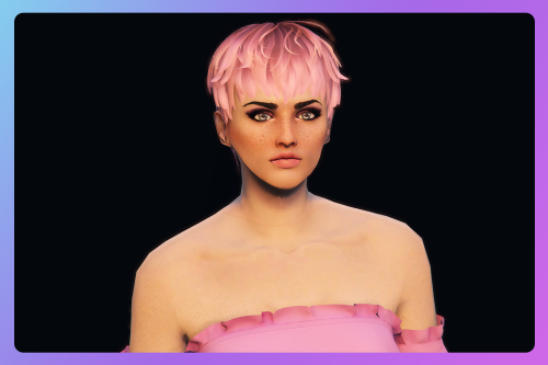 Pixie cut hairstyle for MP Female