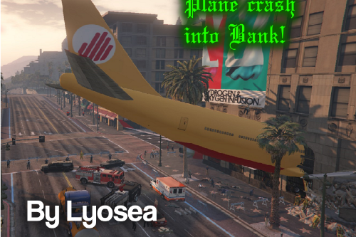 855bd7 plane crash into bank