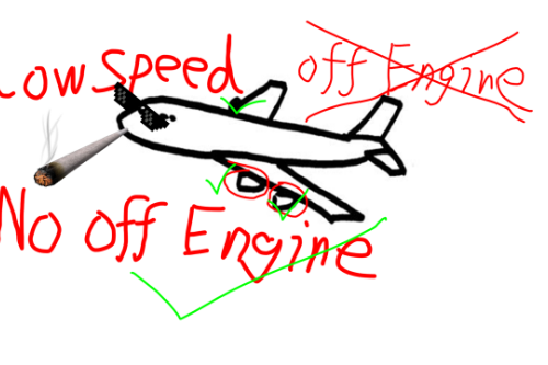 Plane Low Speed No Off Engine[.NET]