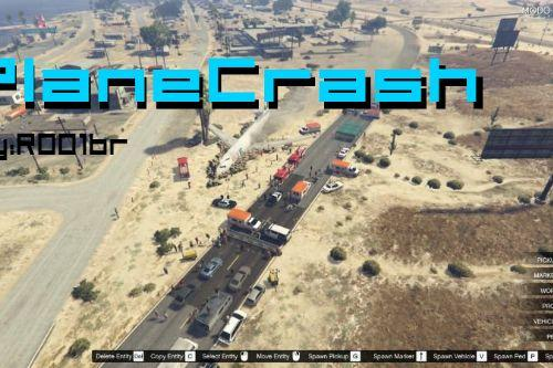 Plane Crash in Sandy Shores